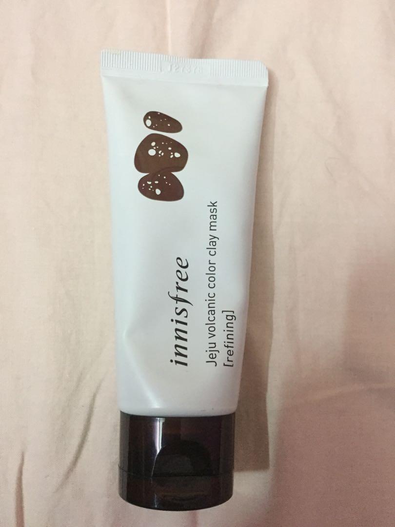 Innisfree Clay Mask Refining Health Beauty Skin Bath Body Jeju Volcanic Color 70ml Photo