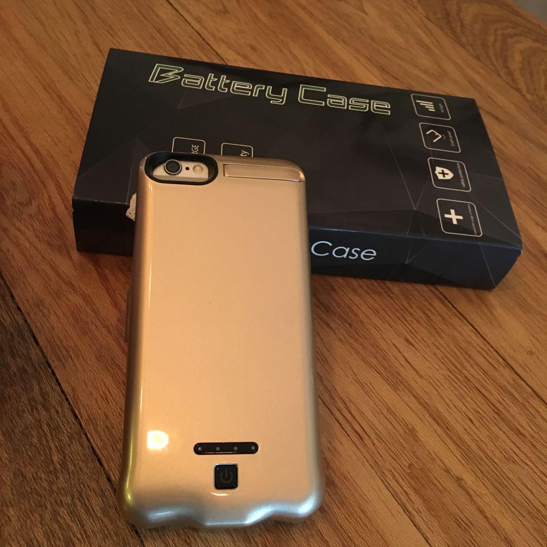 iPhone Power Bank Case 20,000 mAh (Gold) - iPhone 6/7/8