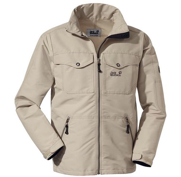 Jaket Jack wolfskin ori XXL, Men's Fashion, Men's Clothes