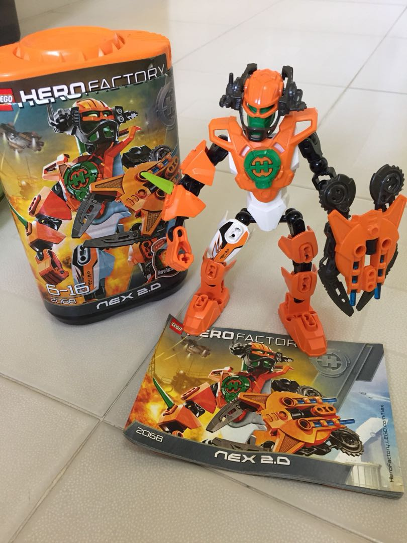Lego Hero Factory 2068 Nex 20 Ages 6 16 Toys Games Bricks