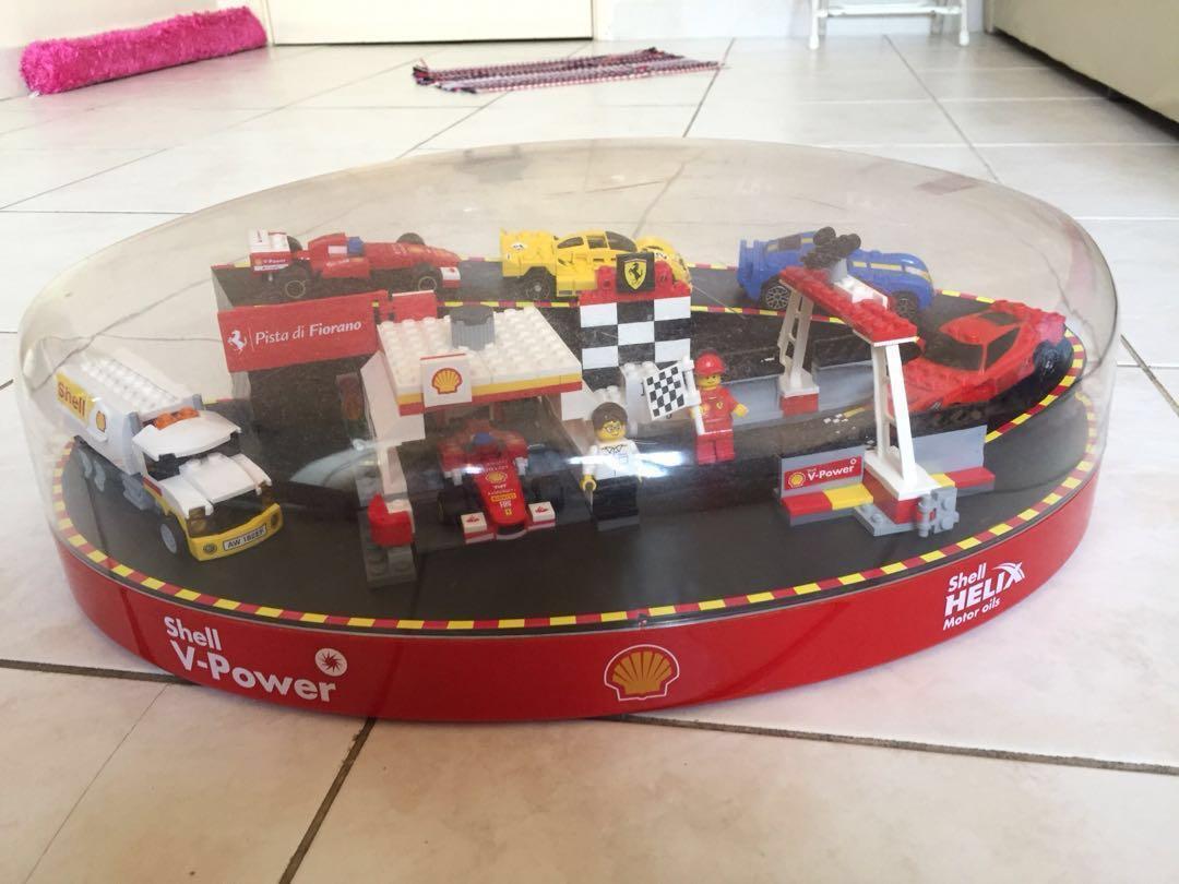 Lego X Shell X Ferrari Full Set Mainan Game Alat Mainan Lain Di