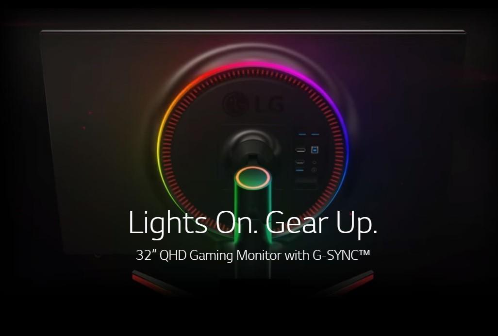 "LG 32GK850G-B 32"" QHD 2560x1440 144Hz Refresh rate Nvidia G"