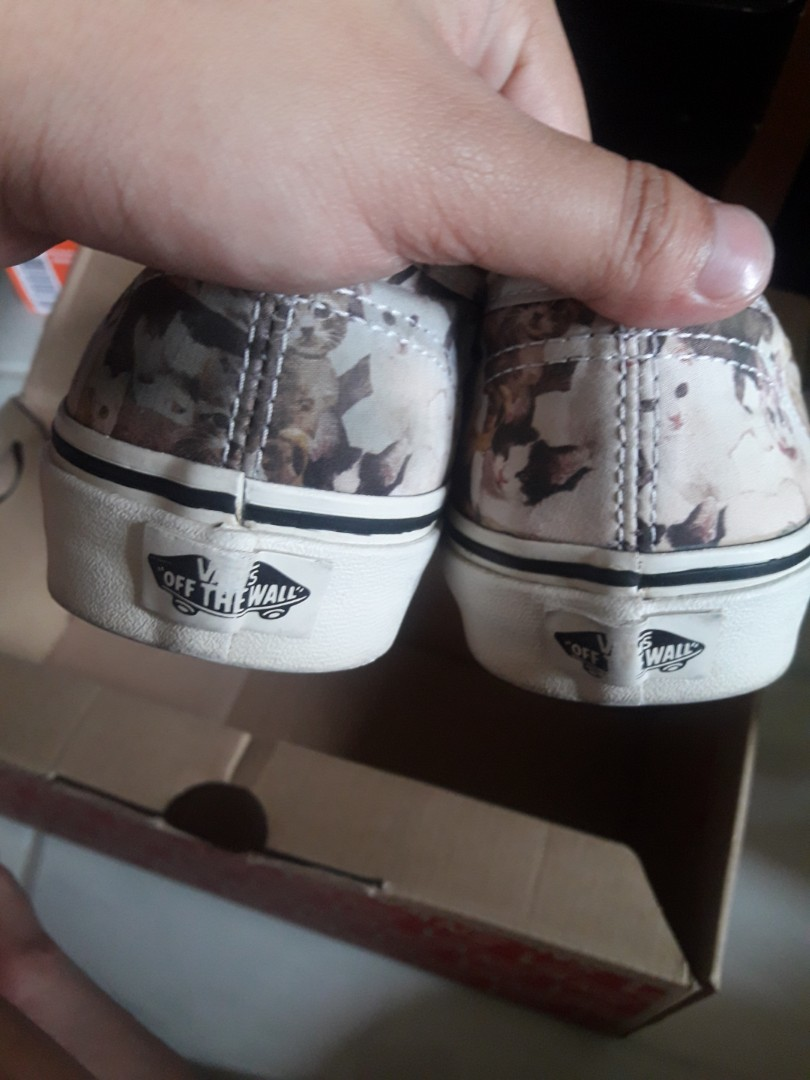 0f8f7f0802 Limited edition! ORIGINAL VANS WITH CAT DESIGNS!