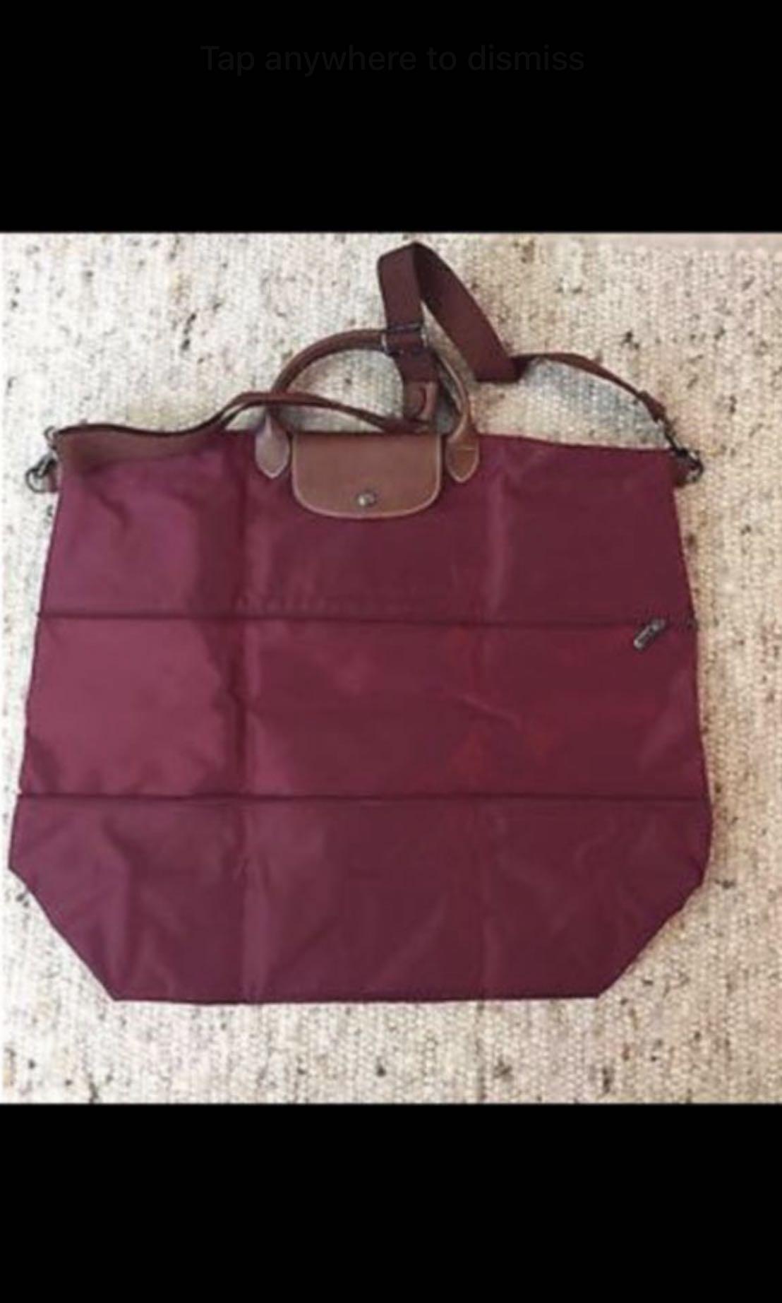 a3dd1c242575 Longchamp Le Pliage Expandable travel bag