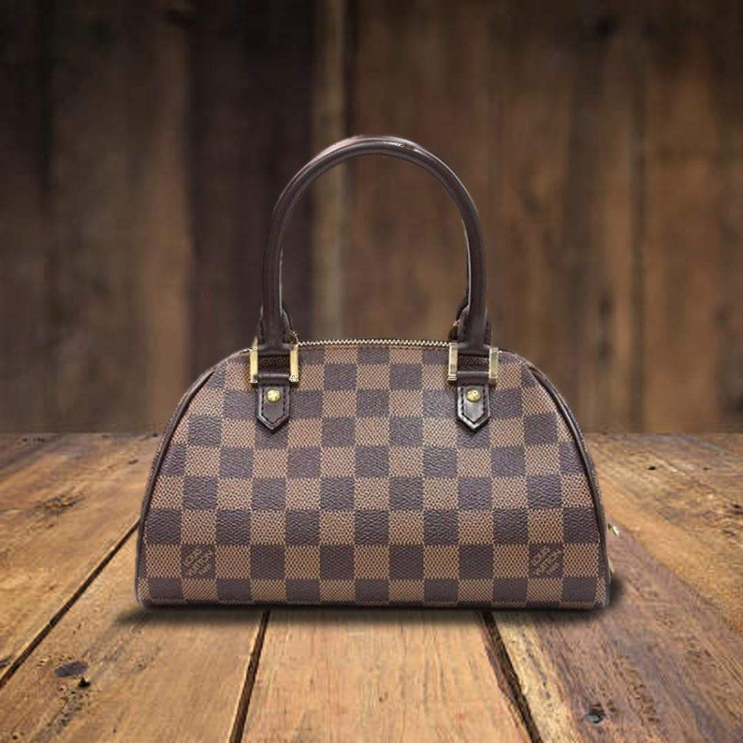 d29ff89a0f79 louis vuitton damier ebene canvas ribera mini bag (pre-owned ...
