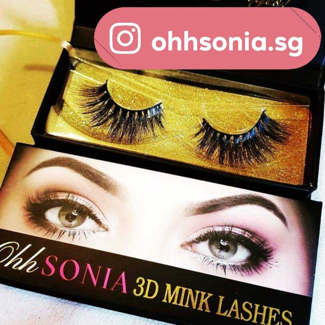 d09f40af580 Malika Mink Eyelashes, Women's Fashion, Accessories, Others on Carousell