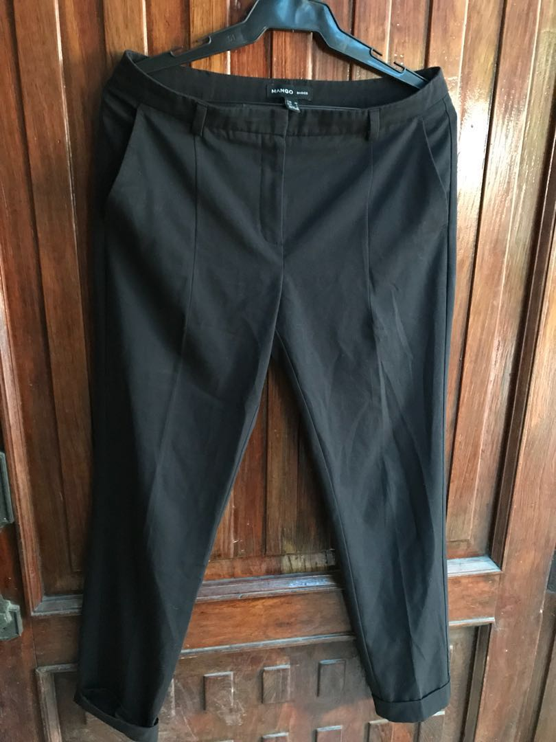 7fd97bf00 Mango Black Pants/Slacks, Women's Fashion, Clothes, Pants, Jeans & Shorts  on Carousell