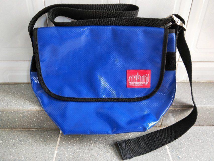 8c8cdc496a MANHATTAN PORTAGE VINYL VINTAGE MESSENGER BAG
