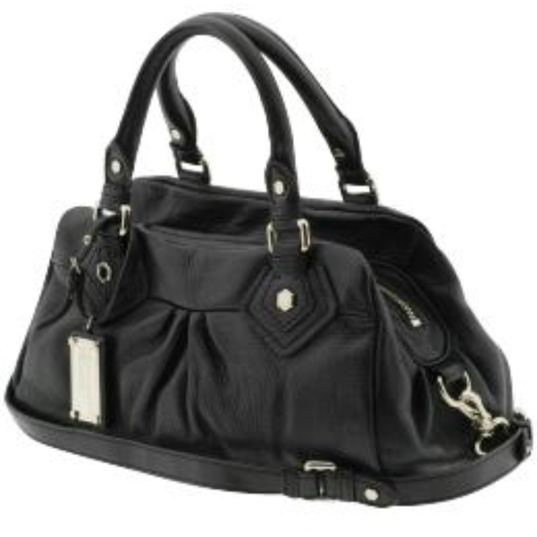 3955ce1c32c0 Marc by Marc Jacobs Classic Q Baby Groovee Satchel Bag in Black ...