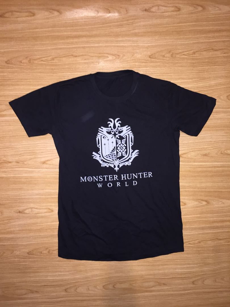 d21e9ae2 Monster hunter logo t shirt, Men's Fashion, Clothes, Tops on Carousell