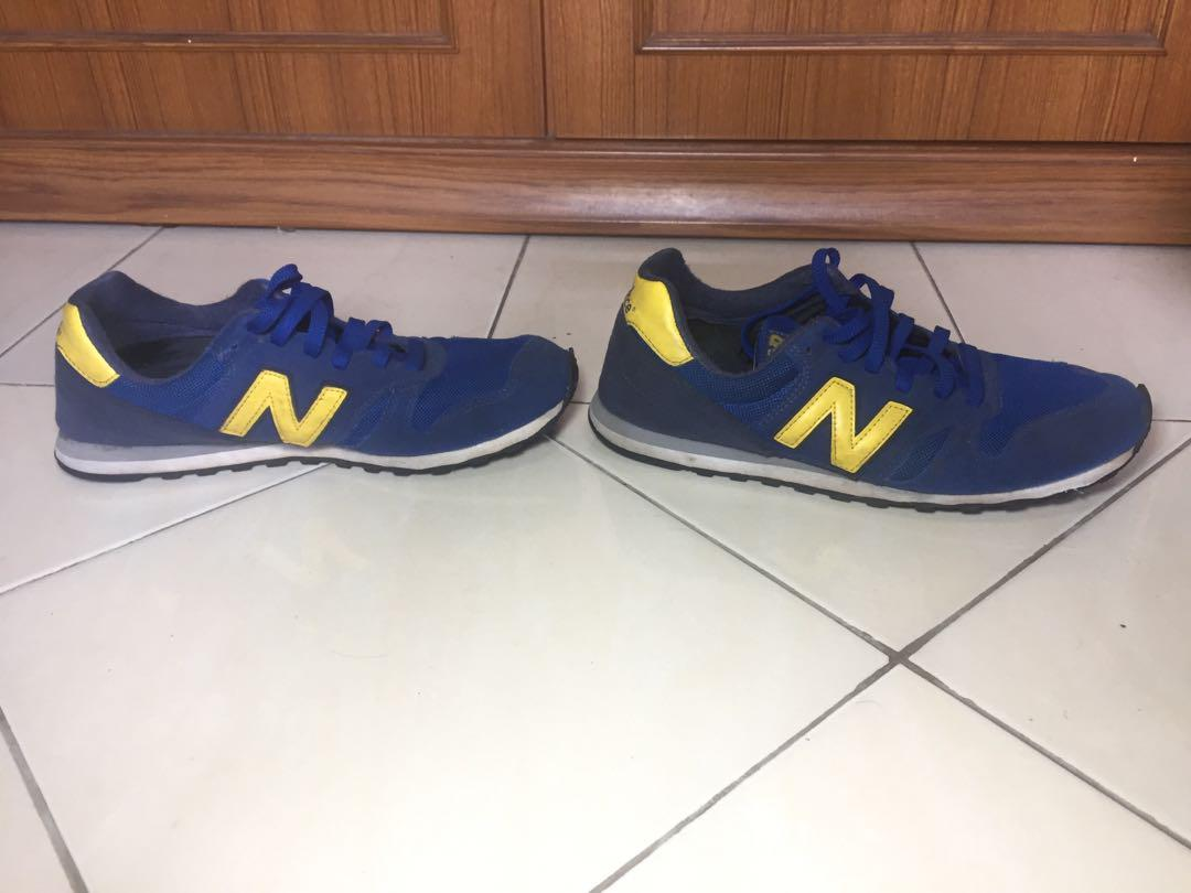 New Balance 373 Blue Yellow (43)