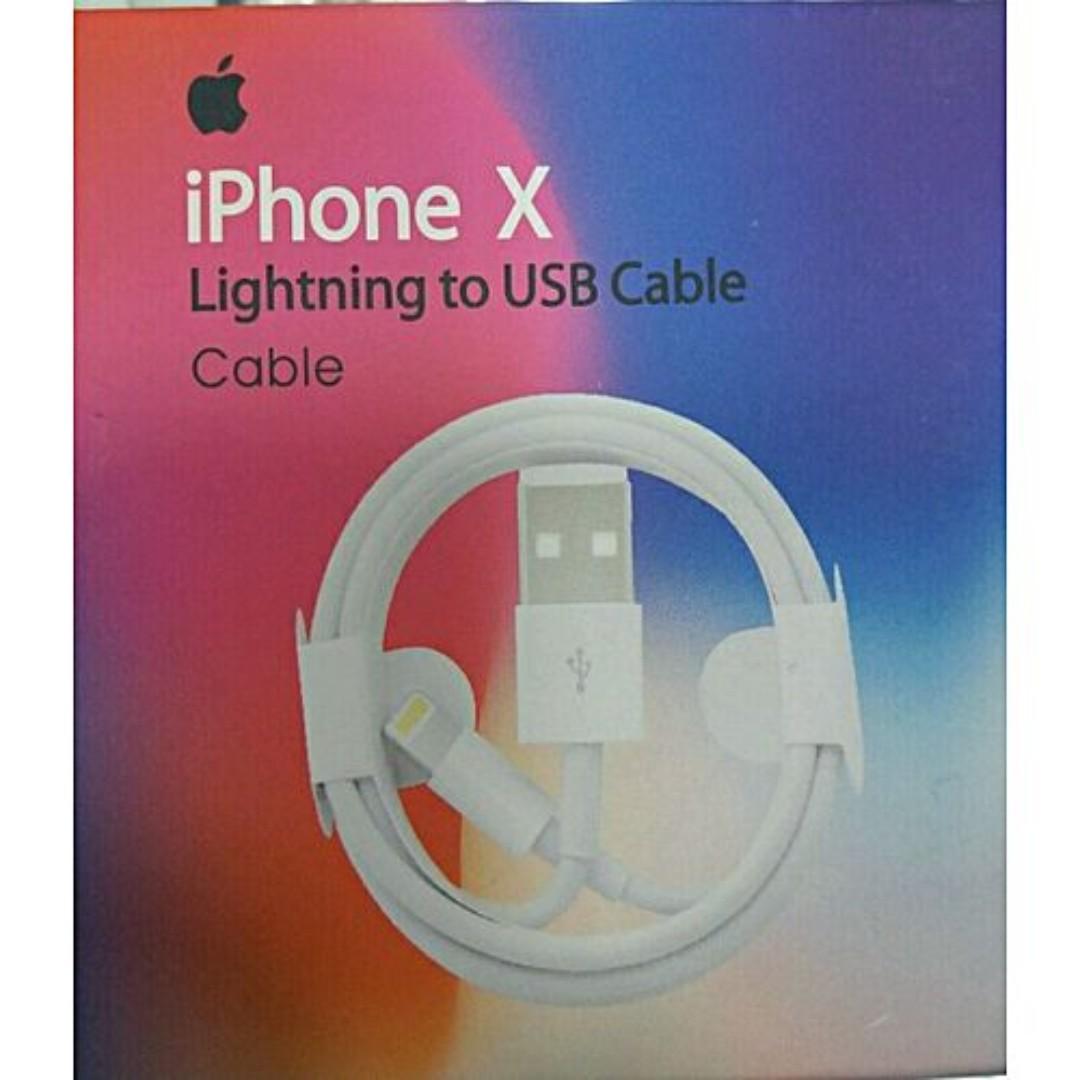 free shipping b1acb 0f282 New Original Apple Lightning Cable iPhone X, iPhone 8, iPhone 7, Iphone 6  cable, apple earpods, lightning earpods, apple earpiece, apple plug, apple  ...