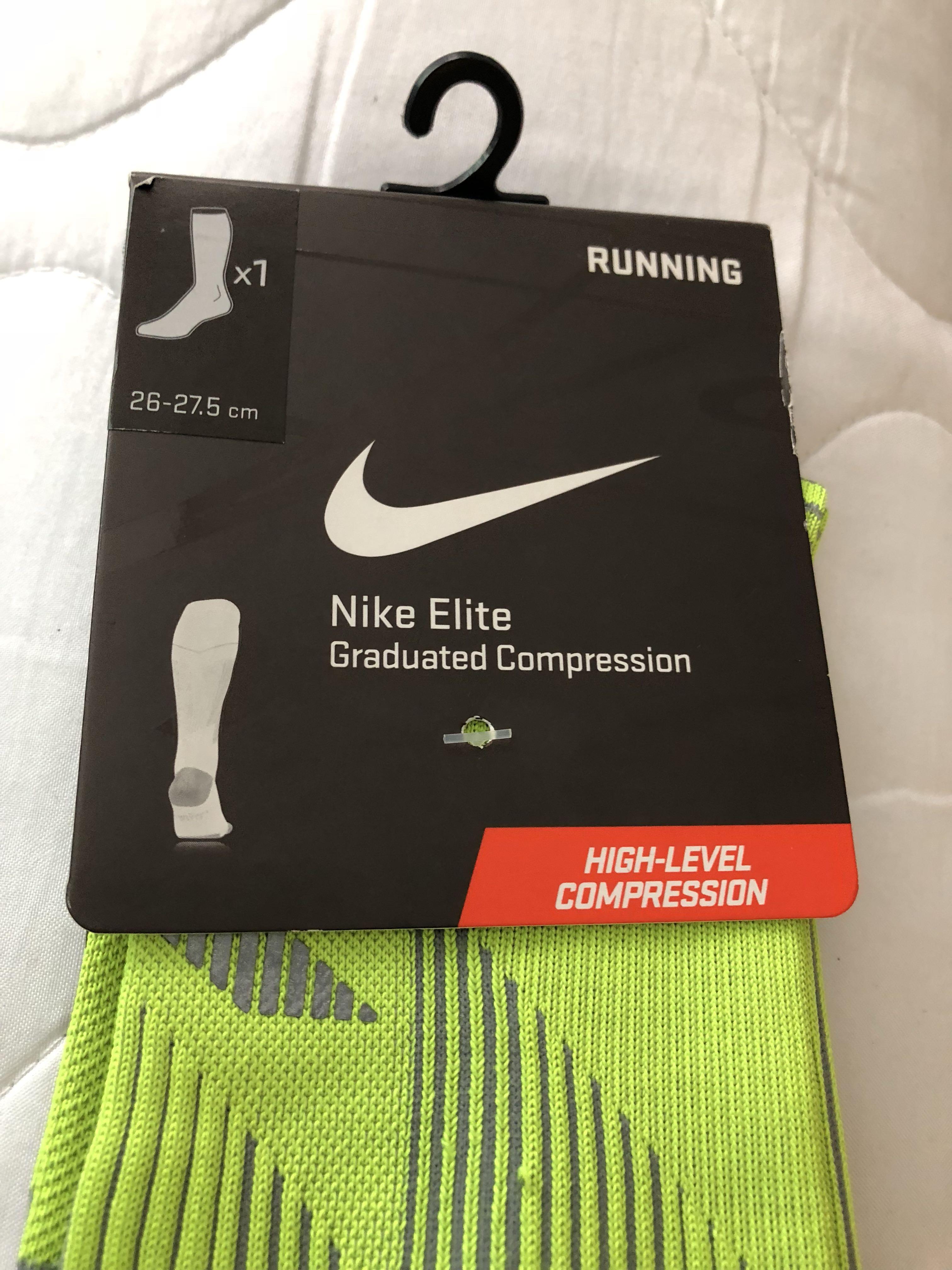 3e8ef1cbf3 Nike Compression socks Size 3, Sports, Sports Apparel on Carousell
