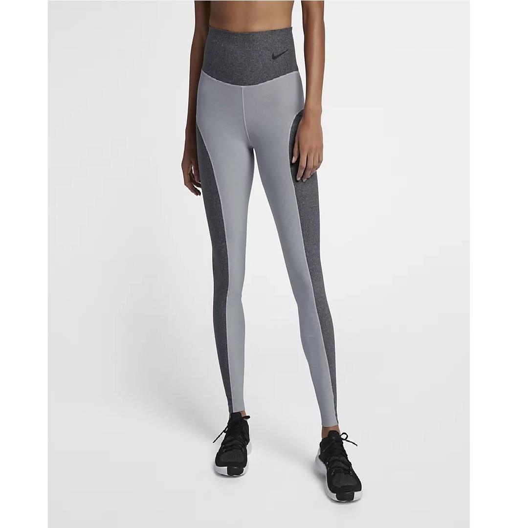 45eacbe4cb Nike Power Studio Women's Training Tights (Wolf Grey/Heather/Dark  Grey/Black)
