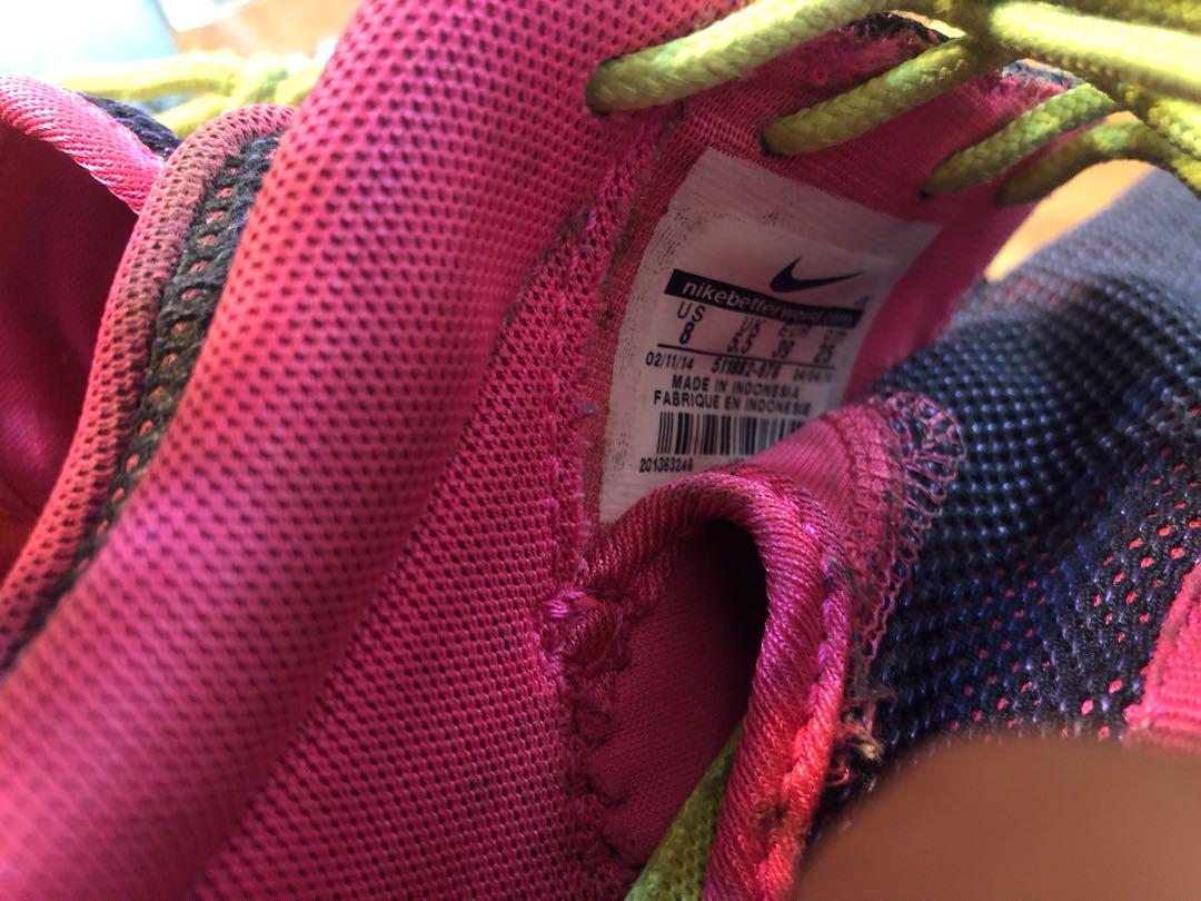 Nike Roshe run 慢跑鞋 (二手)