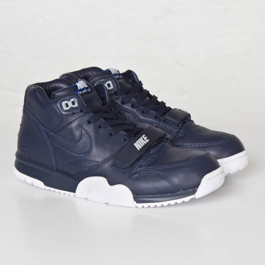 buy online ca535 4826d NIKE X FRAGMENT DESIGN AIR TRAINER 1 MID SP OBSIDIAN US SIZE 12 ...