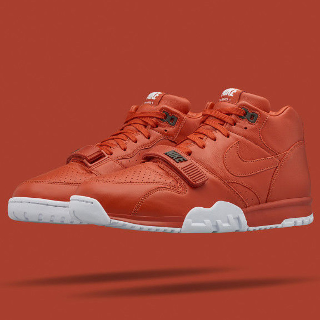 e645328f572 NIKE X FRAGMENT DESIGN AIR TRAINER 1 MID SP RUST US SIZE 12