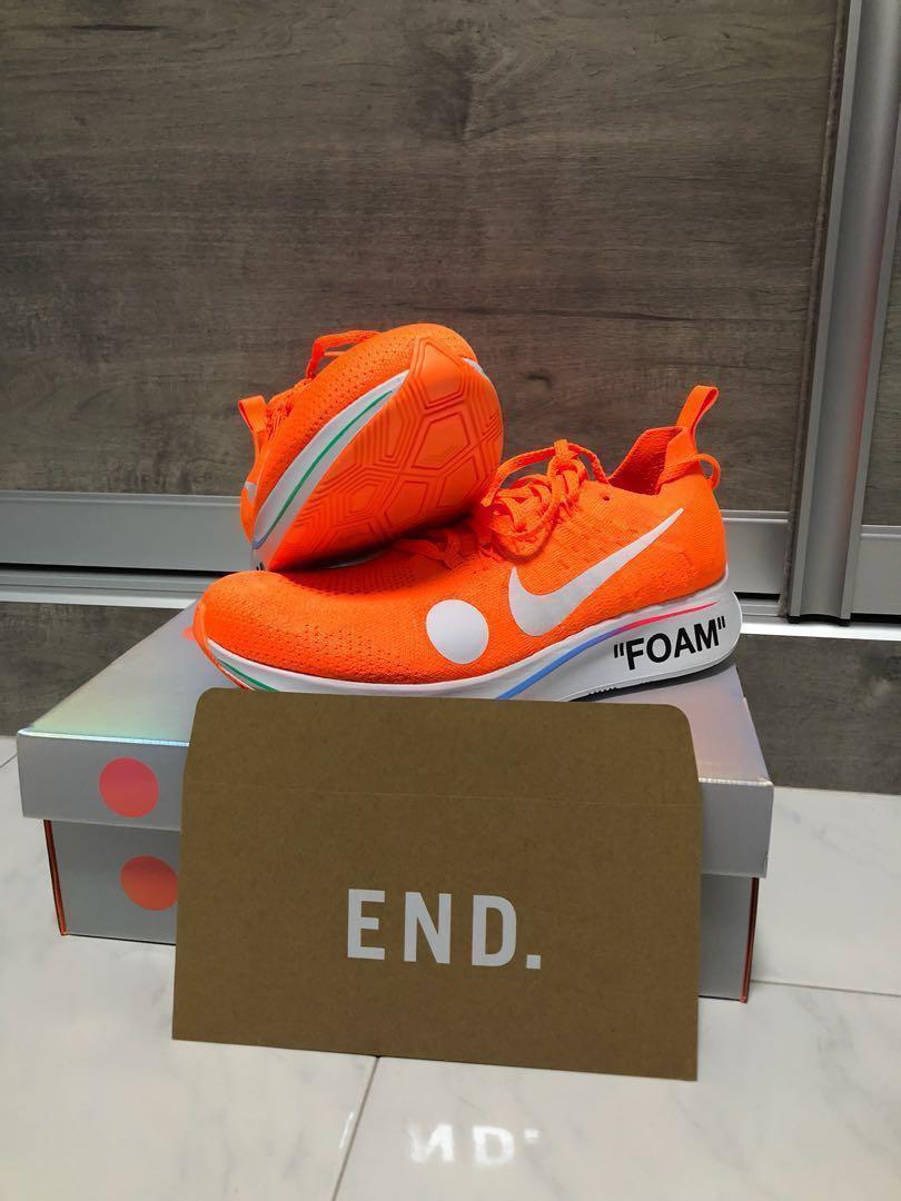 0788dbde05b8 Off White x Nike Zoom Fly Mercurial Flyknit