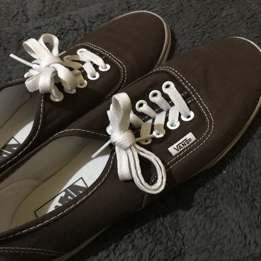 042c1cfe0136 Original - VANS off the wall Shoes (Brown)