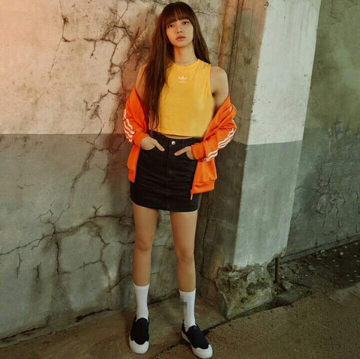 Po Blackpink Lisa Summer Yellow Full Outfit Anh Apparel