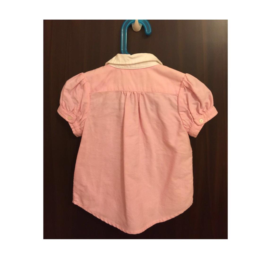1acd12f2b Polo Ralph Lauren Girls Oxford Shirt, Babies & Kids, Girls' Apparel, 1 to 3  Years on Carousell