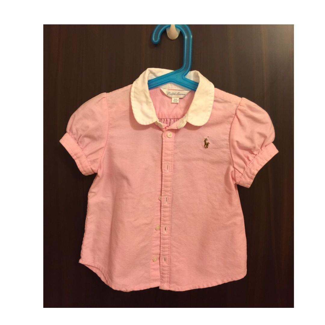 e0b1e33cd Polo Ralph Lauren Girls Oxford Shirt, Babies & Kids, Girls' Apparel ...