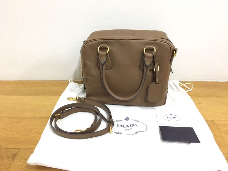 23474d9e3f3d Prada BL0757 bag with card for sales, Luxury, Bags & Wallets ...