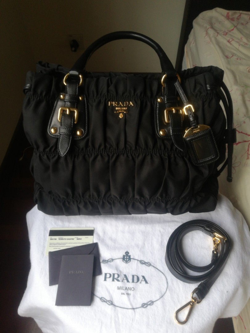 7339f62c7b1b ... switzerland prada tessuto gaufre bag bn1788 luxury bags wallets on  carousell 4b3ed c7a5f
