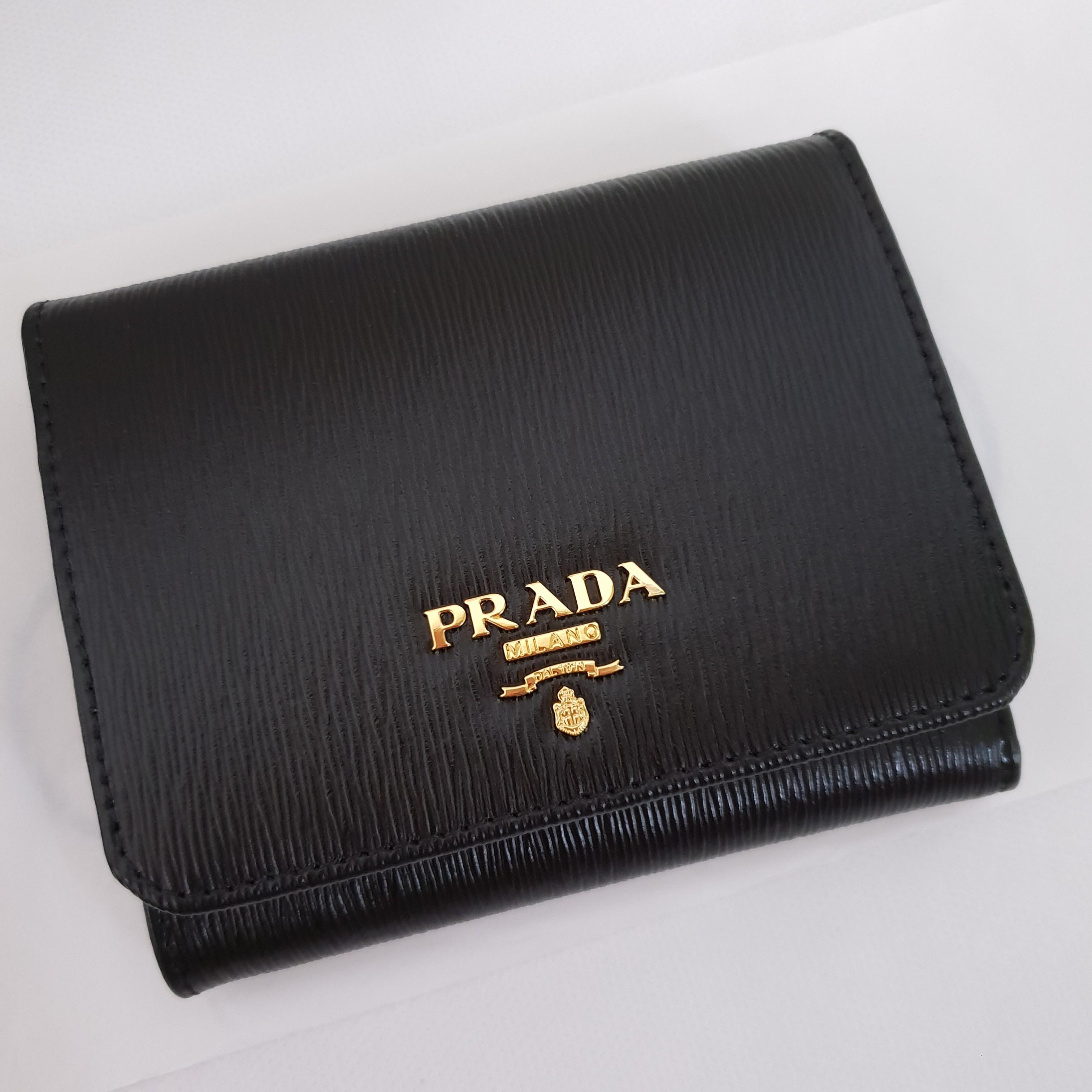 6d3482357c4d BNIB Prada Wallet (Portafoglio Pattina Vitello Move) 100% Authentic ...