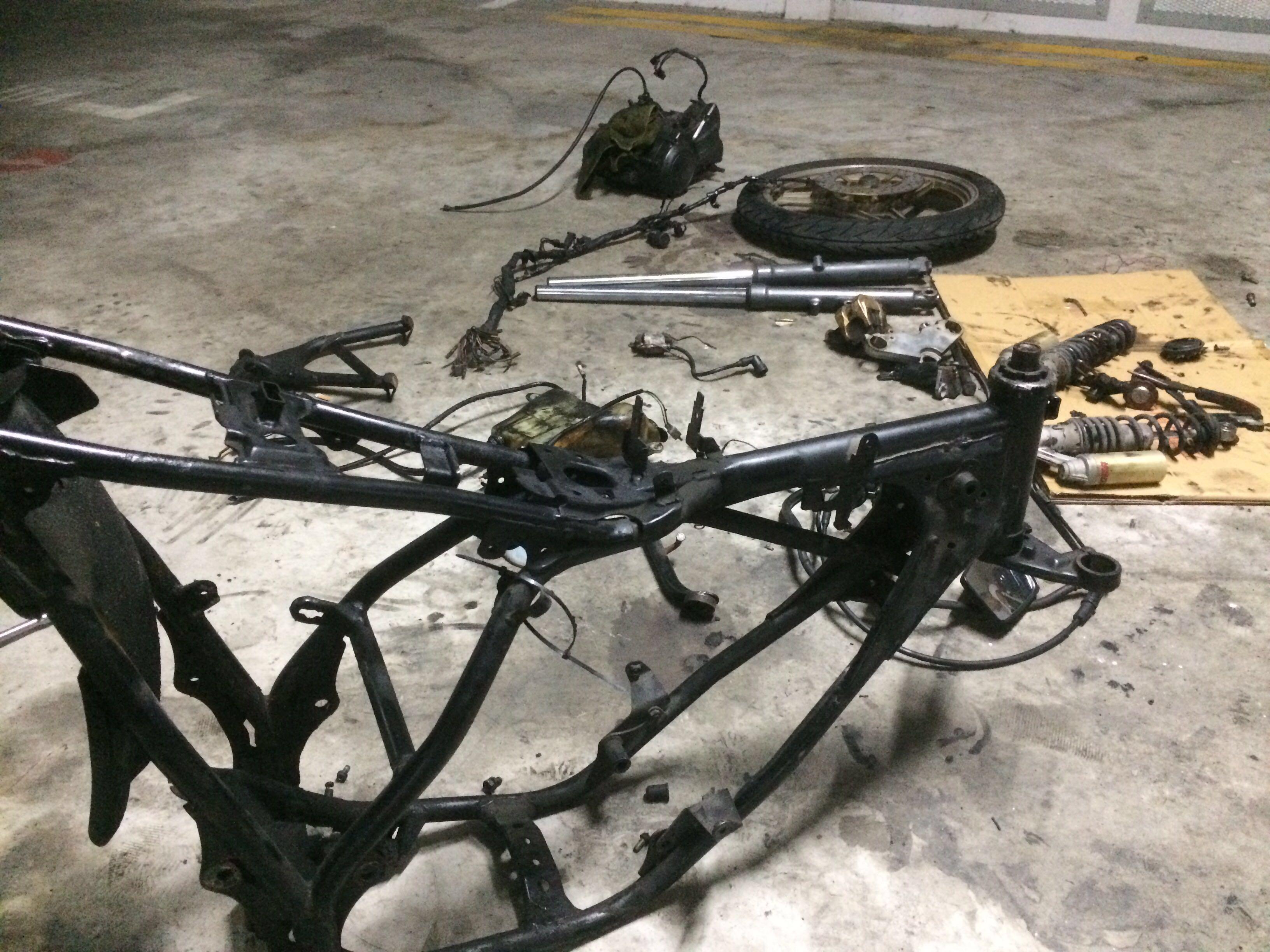 RXZ Parts Garage
