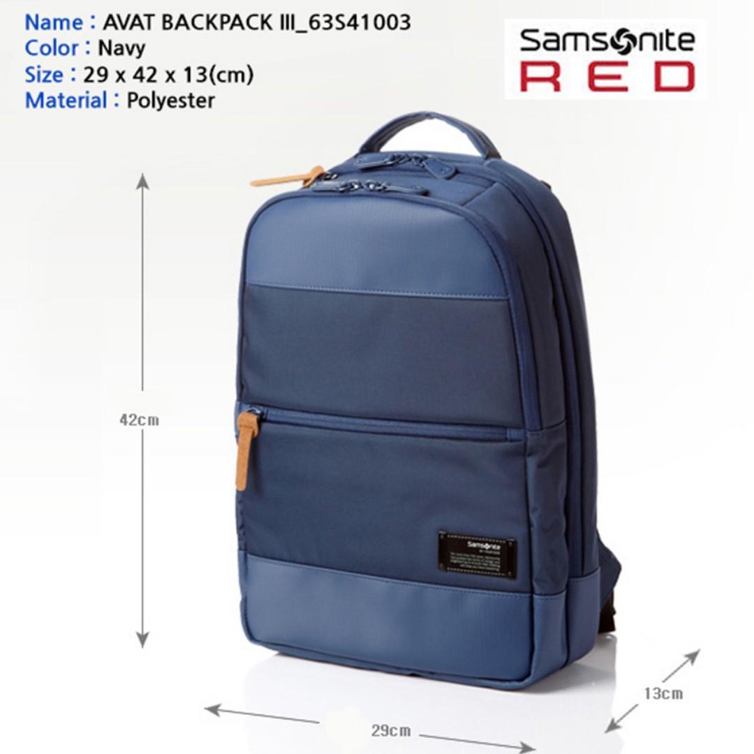 Samsonite Avant Slim Laptop Backpack III