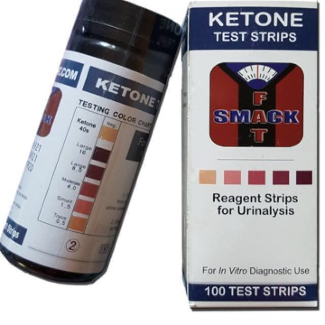 Smackfat Ketone Strips Perfect For Ketogenic Diet And Diabetics