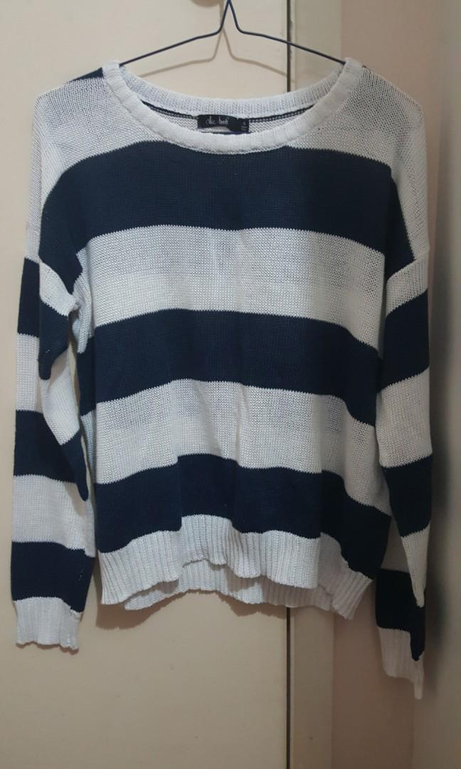 Striped knit size 8