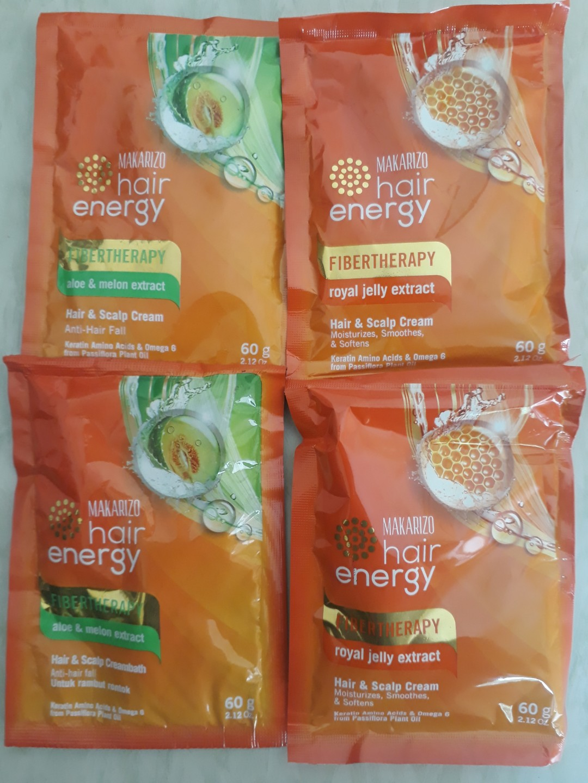 Makarizo Fibertherapy Aloe Melon 30 Gr 4 Pcs Daftar Harga Terbaru Shampo Sachet Lemon Home Hair Energy Olive 500 Page Photo