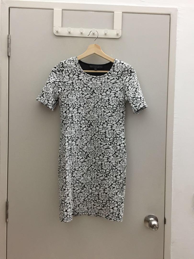 a2d8aec9504bf Topshop Bodycon Floral Dress, Fesyen Wanita, Pakaian, Dresses di ...