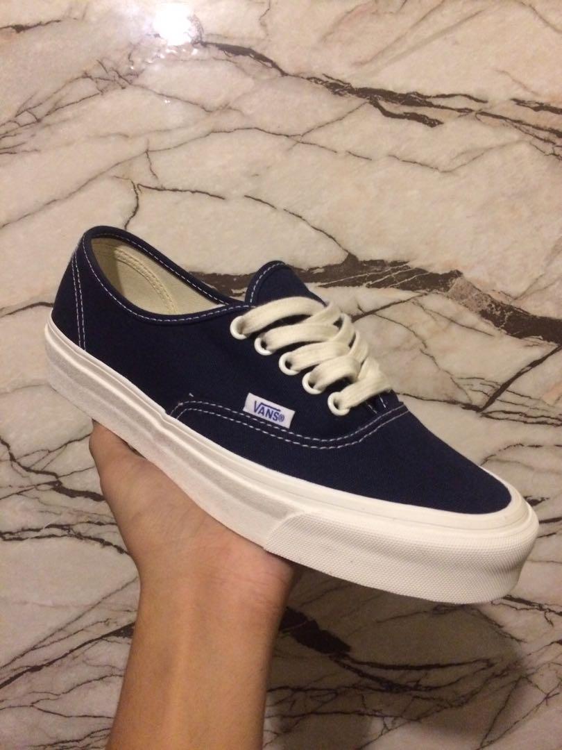 Vans Vault Dress Blue, Men's Fashion