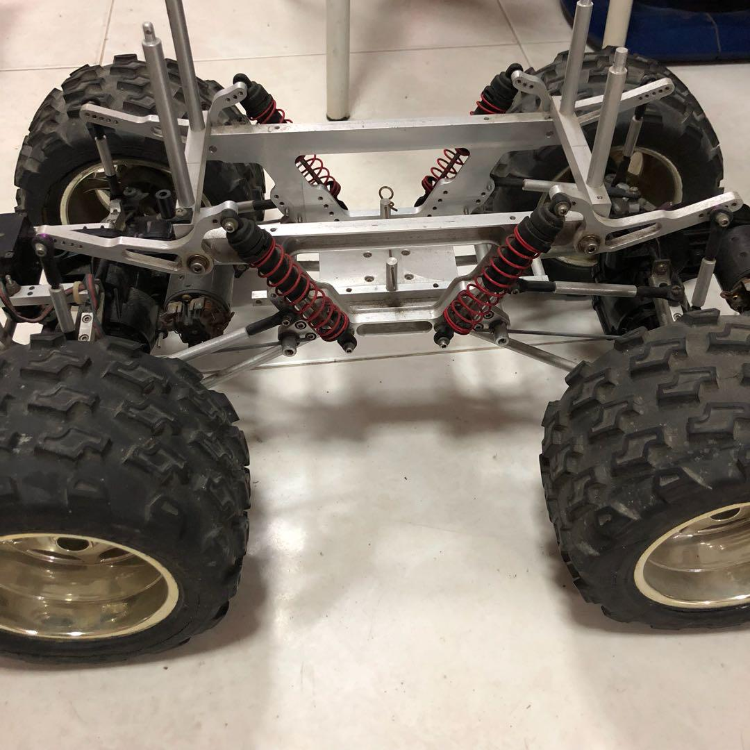 Vintage Tamiya Jps Cantilever Chassis Custom Moa Rc Monster Truck Toys Games Bricks Figurines On Carousell