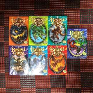 BEAST QUEST Books