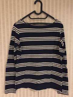 Uniqlo Stripes Boatneck