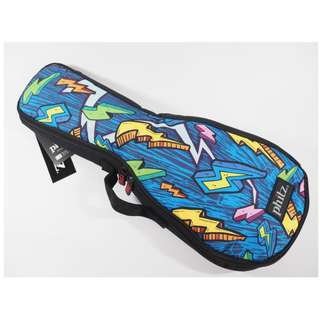 🚚 美國帶回 Phitz 搖滾閃電Soprano烏克麗麗背袋 (Phitz USA  Soprano Ukulele Lightning Case)