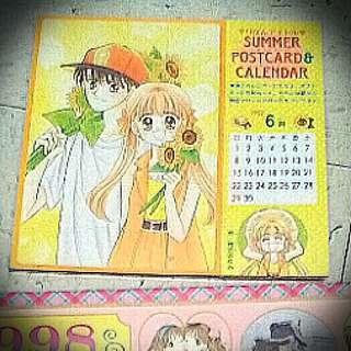 漫畫人物公仔日曆 98 Comic Calendar