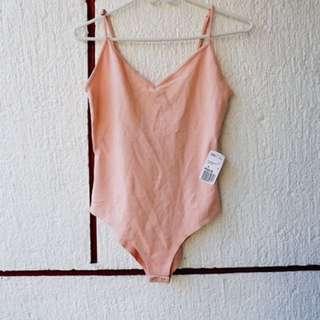 Forever21 pink bodysuit
