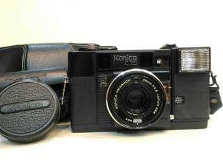KONICA C35 AF 底片相機 NIKON CANON OLYMPUS 可參考