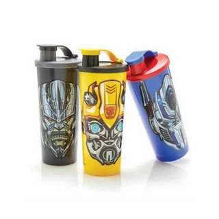 Transformer thumbler tupperware
