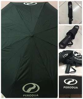 [ready stock] PERODUA auto folded umbrella