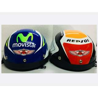Helmet MHR III 3 Half Cut Repsol & Movistart GP Edition