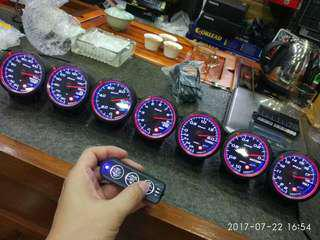 DEFI GAUGE WITH CONTROL UNIT(3x PER SET)