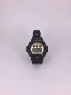G-shock 黑金 black gold