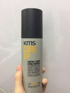 KMS Curl Up for curly hair (hair cream creme gel perms frizz)