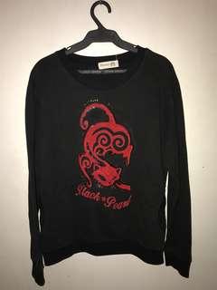 Chappy Black Sweater